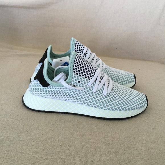86787712a76e6 BRAND NEW! Adidas Deerupt Runner Ash Green Sz 6.5